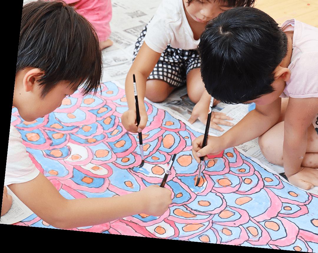 子ども達の描画